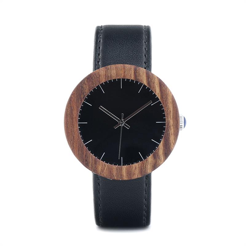 Bobo Bird női fa karóra - fekete bae5230840