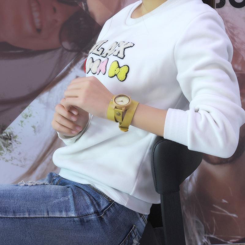 Bobo Bird női karóra - sárga d0dbeca702